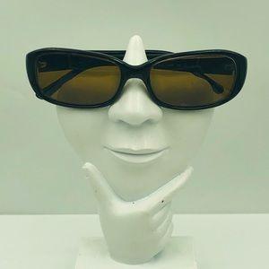Nine West Brown Oval Leopard Sunglasses Frames